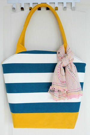 Rounded Top Tote Bag