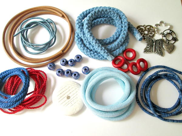 O & N Cords, Beads, and Pendants Bundle
