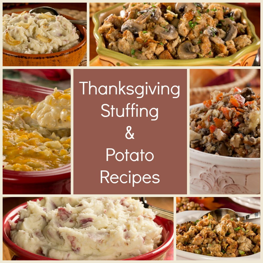 The Best Thanksgiving Stuffing Recipes & Easy Potato Side