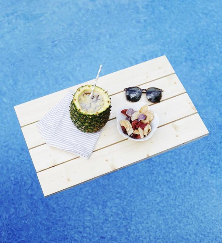 Floating Pool Tray Diy Diyideacenter Com