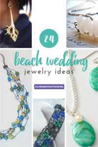 Beautiful Beach Jewelry: 24 Beach Wedding Jewelry Ideas