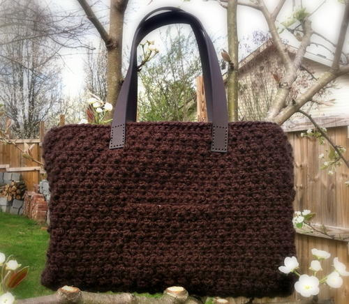 Chocolate Tote