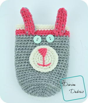 Bunny Bottle/ Can Cozy