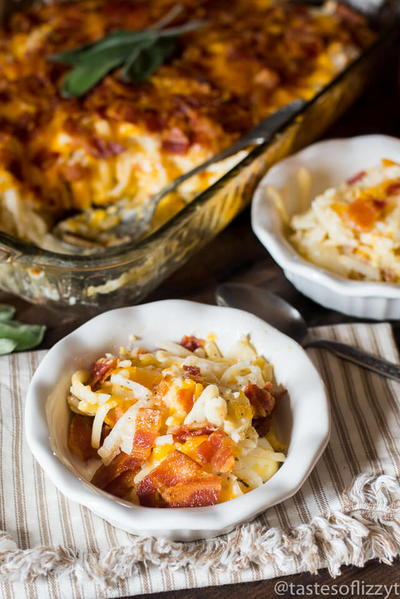 Amish Bacon and Hash Brown Breakfast Bake
