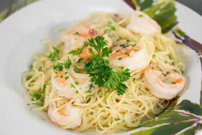 chicken and shrimp carbonara olive garden price