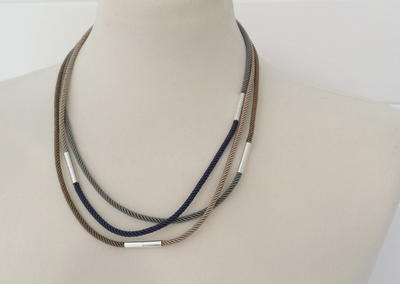 Multiway Silk Cord Necklace