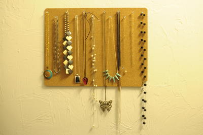Placemat DIY Jewelry Organizer