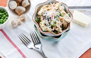 Lightened Up Tuna Noodle Casserole