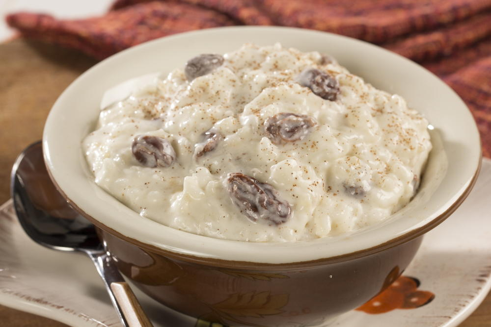 Creamy Rice Pudding | MrFood.com