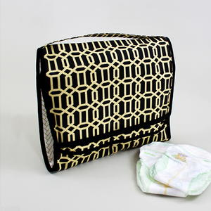 On-the-Go Changing Pad & Diaper Caddy