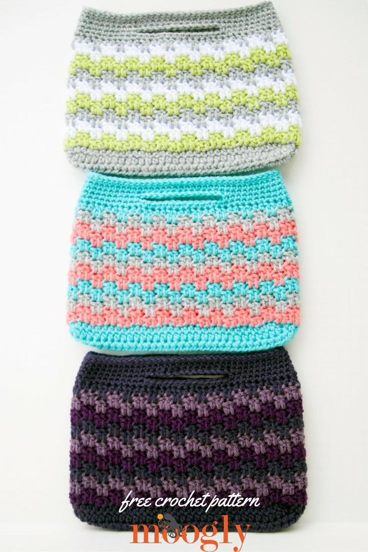 Crochet Boho Bag Pattern : Mesmerizing Mini Bag AllFreeCrochet.com