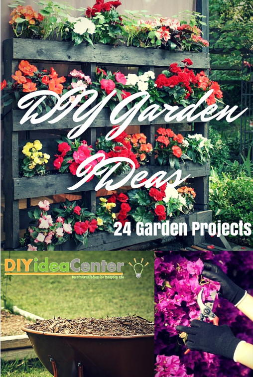 Diy garden ideas 24 garden projects for Idea center dilshad garden