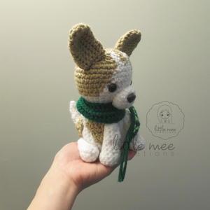Little Fluffy Dog Amigurumi Free Crochet Pattern | 300x300