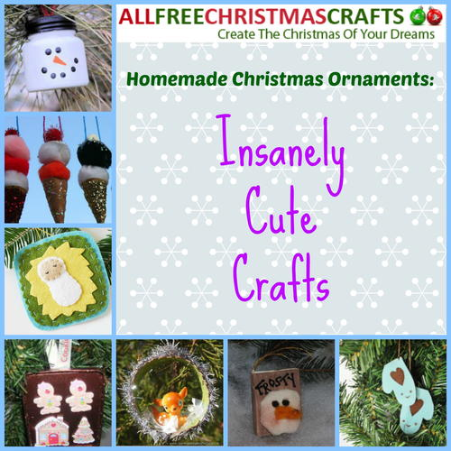 Homemade Christmas Ornaments: 19 Insanely Cute Crafts