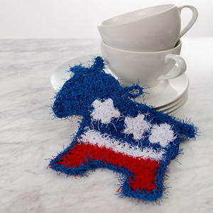 Democratic Donkey Scrubby