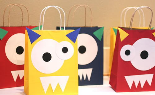 Monster DIY Goodie Bags