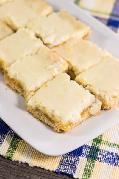 Cream Cheese Lemon Bar Recipe