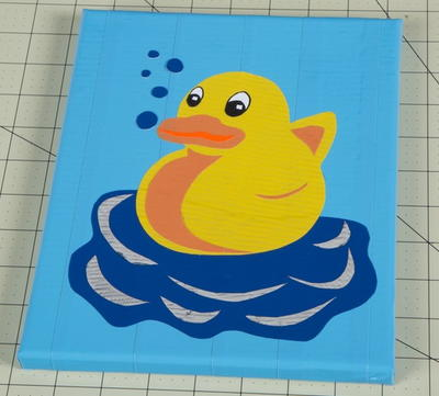 Rubber Ducky Layered Artwork