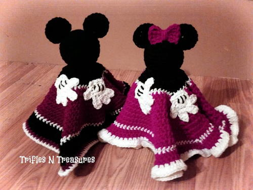 Magical Mouse Crochet Loveys