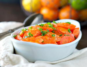 5-Minute Orange Glazed Carrots