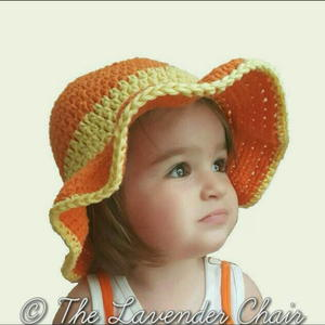 Ava's Toddler Sun Hat