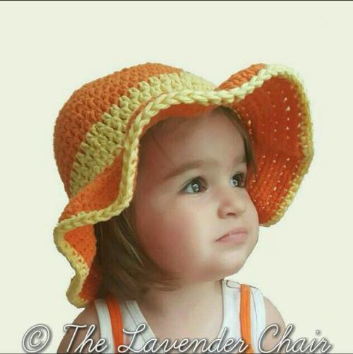 Ava S Toddler Sun Hat Allfreecrochet Com