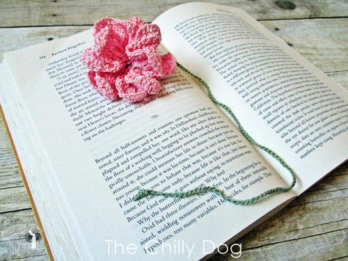Flower Bookmark