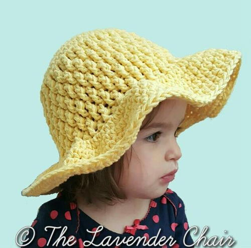 Brickwork Summer Sun Hat Infant Child
