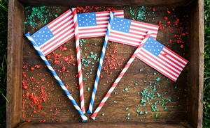 July 4th Pop Rock Sticks
