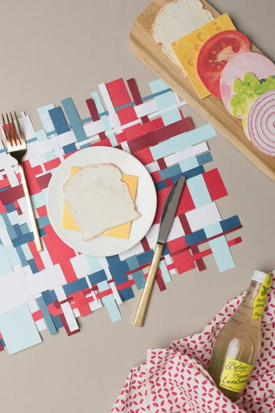July 4th Patriotic Placemats