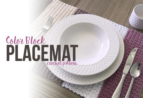 Color Block Placemat