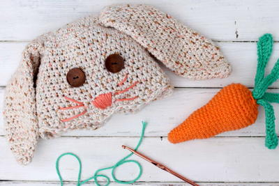 Bunny and Carrot Baby Gift Set