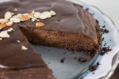 Gluten Free Triple Chocolate Cream Cake