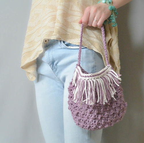 Festival Crochet Purse Pattern