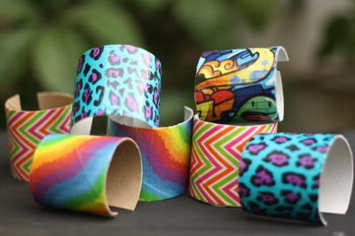 Totally Trending Duct Tape Bracelets
