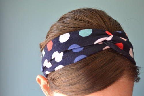 Quick Knotted Headband