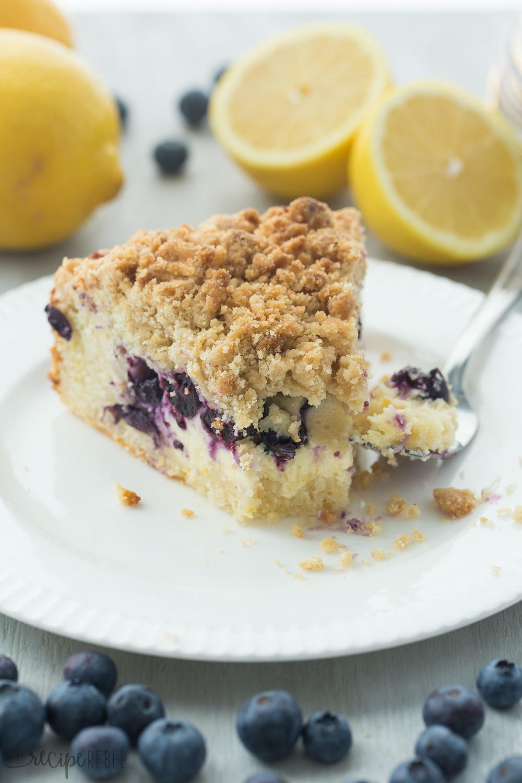 Lemon Blueberry Cream Cheese Coffee Cake Recipelion Com
