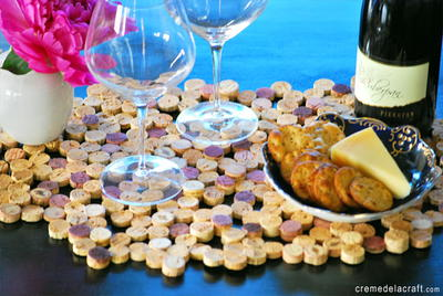 Quirky Cork DIY Placemats