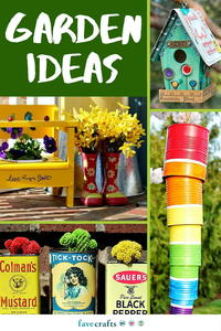 Craft Outside: 84 DIY Garden Ideas