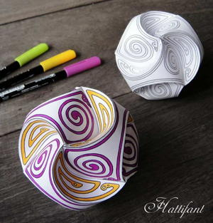 Gorgeous Paper Globes