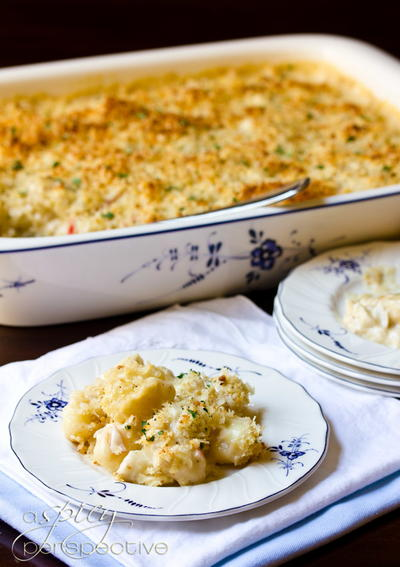 Crab and Gnocchi Mac and Cheese