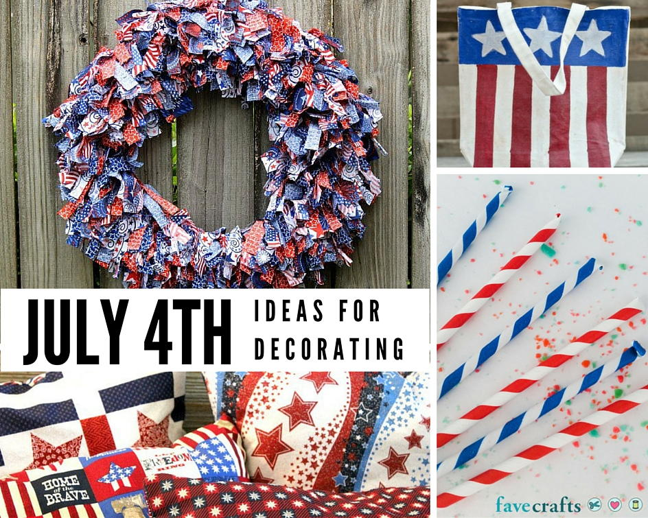 48 fun 4th of july decorating ideas for Decoration 4 july