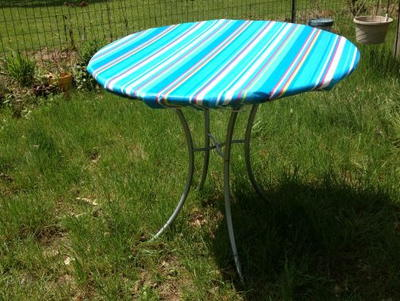 Fitted Outdoor Tablecloth