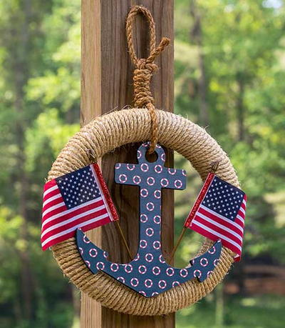 Ahoy America DIY Wreath