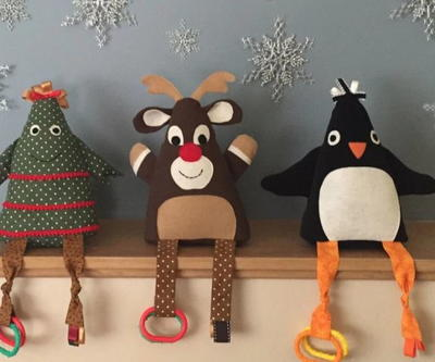 Rudolph And Friends Diy Baby Toys Allfreechristmascrafts Com