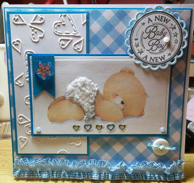 Baby Bear Homemade Card