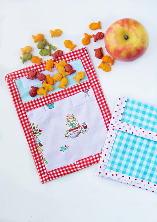 DIY Reusable Snack Bag Tutorial