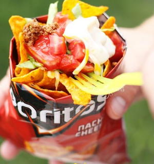 State Fair Taco in a Bag