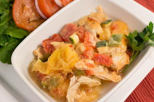 Almost Paleo Chicken Spaghetti Squash Recipe