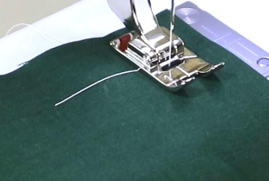 Sewing Machine Straight Stitch Tutorial